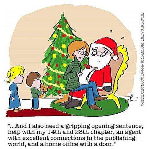 christmas writer list