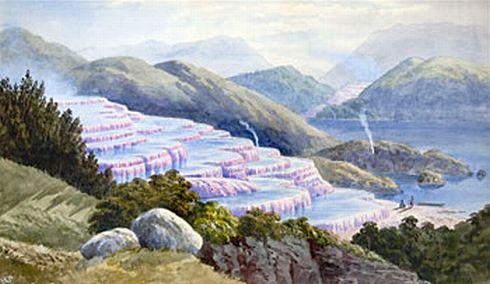 pink terrace
