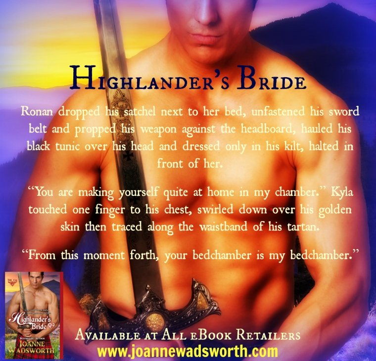 Highlander's Bride Graphic 2